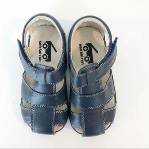 See Kai Run Jude Fisherman Toddler Sandal Size 9